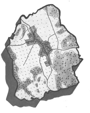 Dorf-Umriss