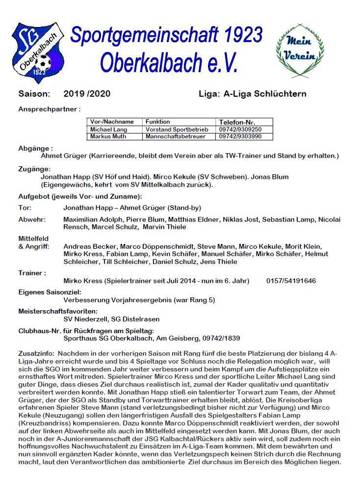 SGO-Kaderinfo 2019-20
